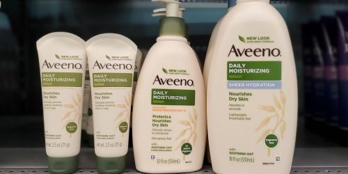 Aveeno Daily 12oz Lotion w/ SPF 15 Only $3.79 Shipped on Amazon (Regularly $9)