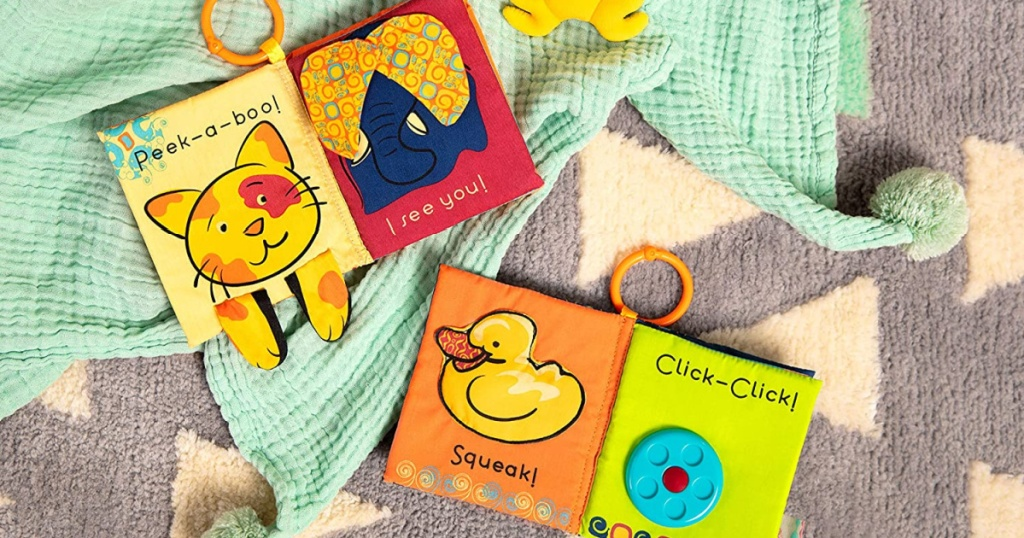 B. toys by Battat Two Soft Baby Books