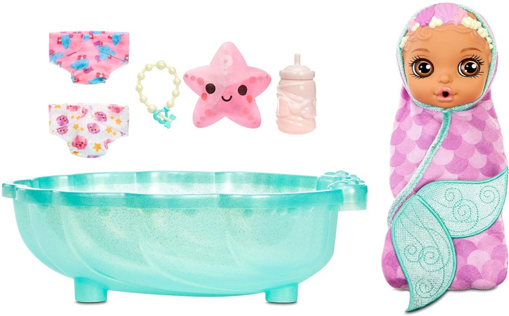 Baby Born Surprise Mermaid and accessories