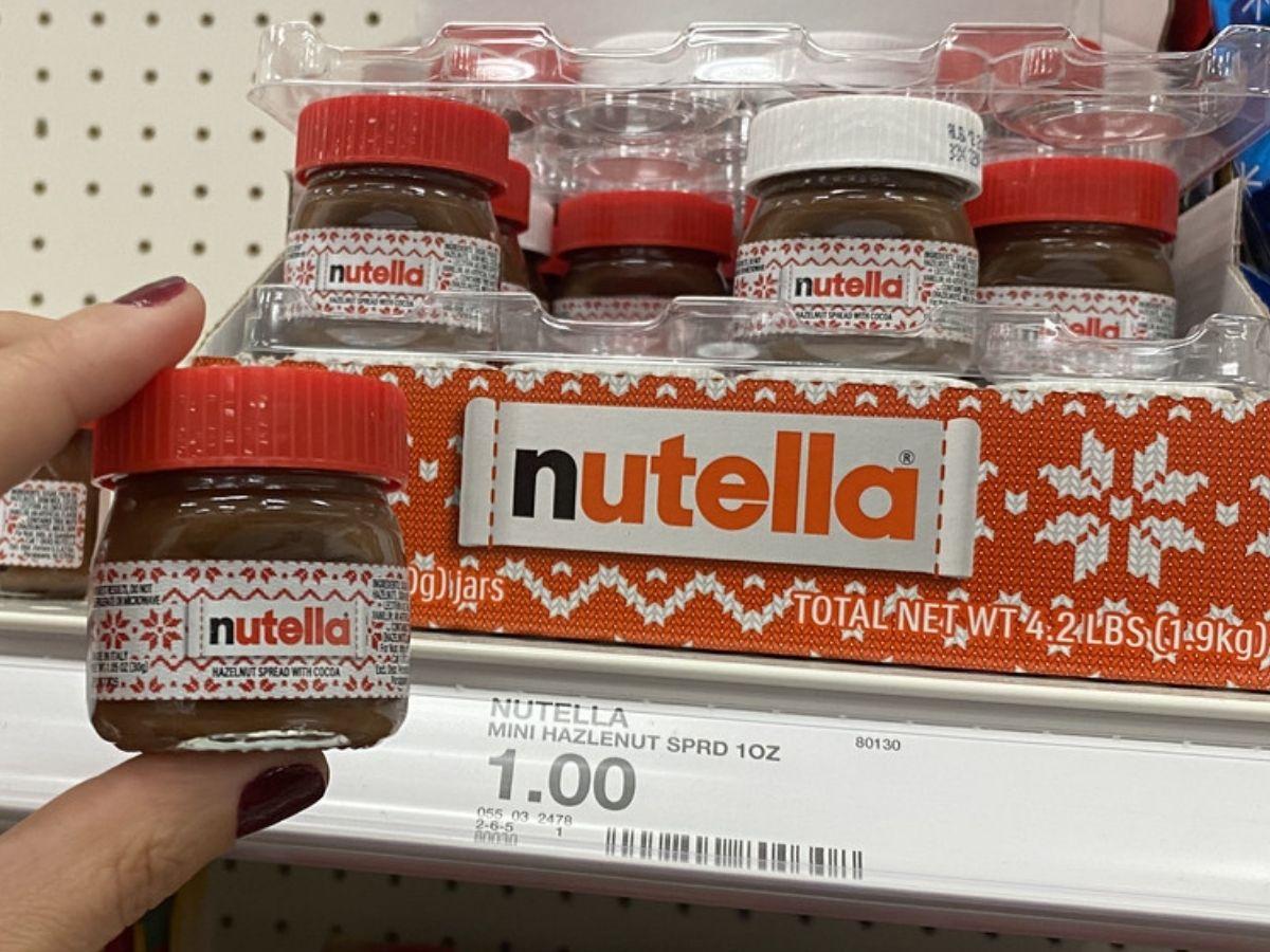 Nutella 1oz Holiday Jars