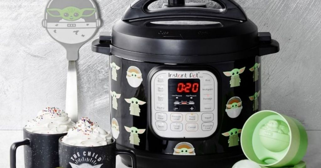 Baby Yoda Instant Pot