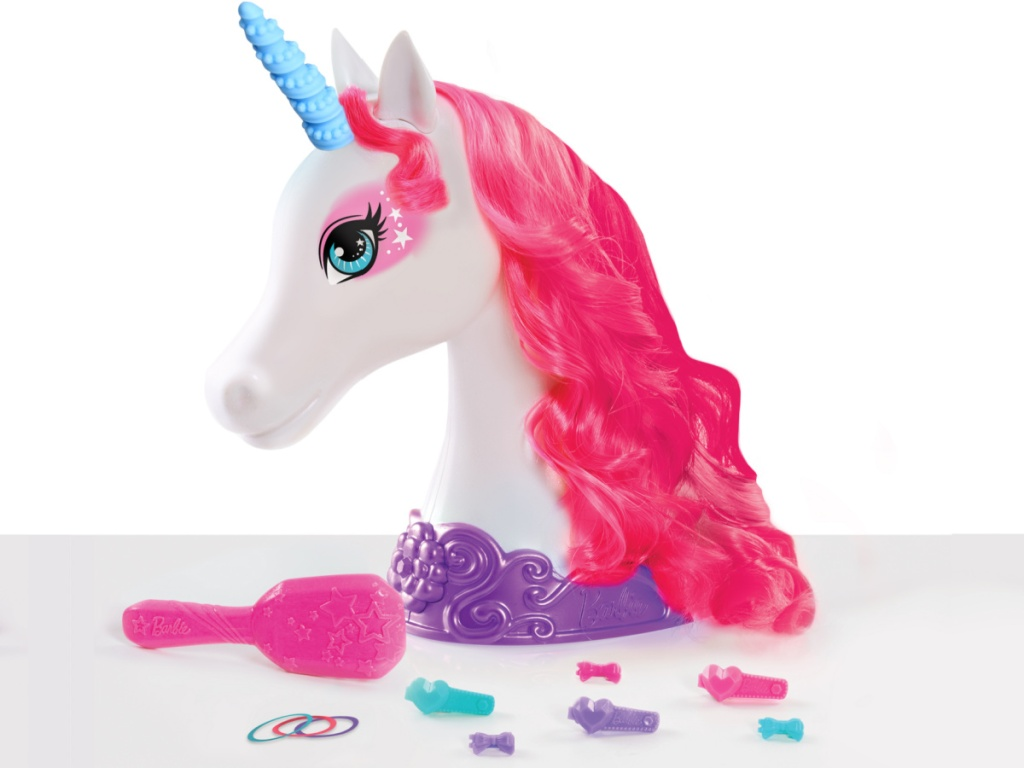 unicorn styling head and accessories