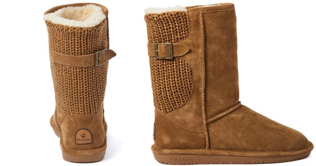 Bearpaw boots stock image