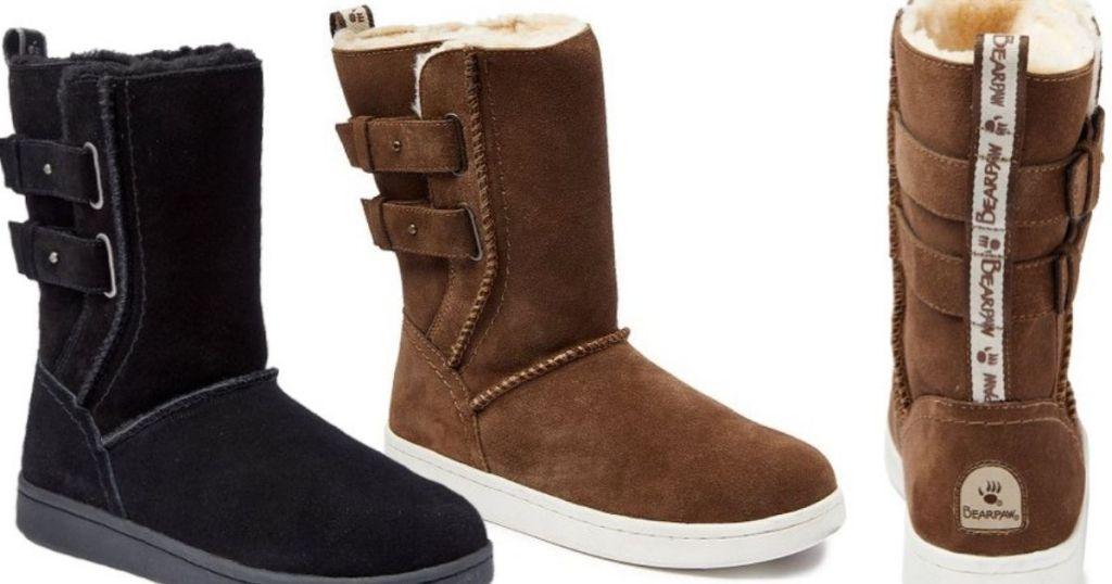 "Bearpaw Women's ""Monica"" suede boots"