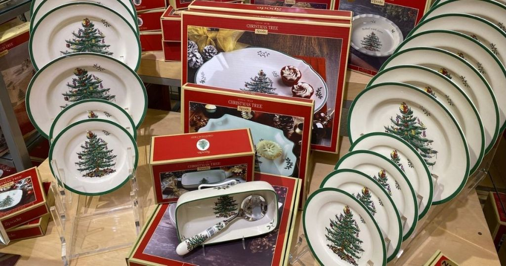 Belk Spode Holiday Serveware