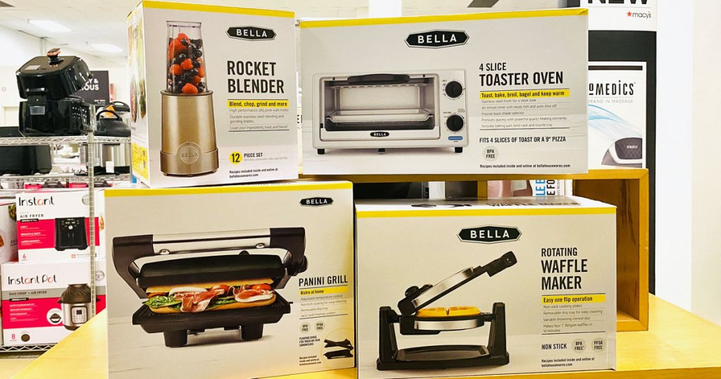 Bella Kitchen Appliances Only 7 99 After Macy S Mail In Rebate Regularly 39 Hip2save