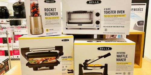 Bella Small Kitchen Appliances Only $7.99 After Rebate on Macys.com (Regularly $45)