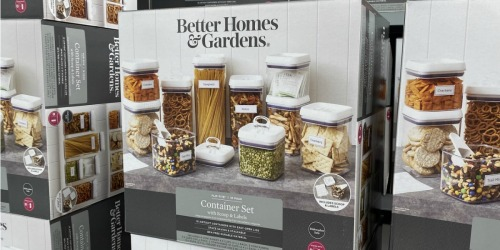 Better Homes & Gardens 10-Piece Canister Set Only $25 on Walmart.com – Black Friday Price!