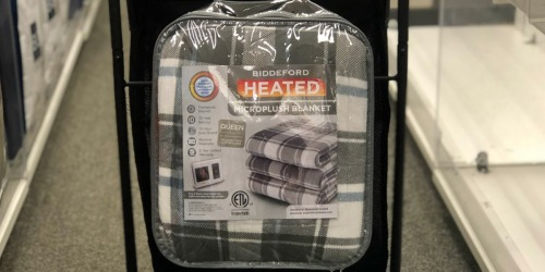 Over 65% Off Heated Blankets & Throws on Kohl's.com + Free Shipping for Select Cardholders