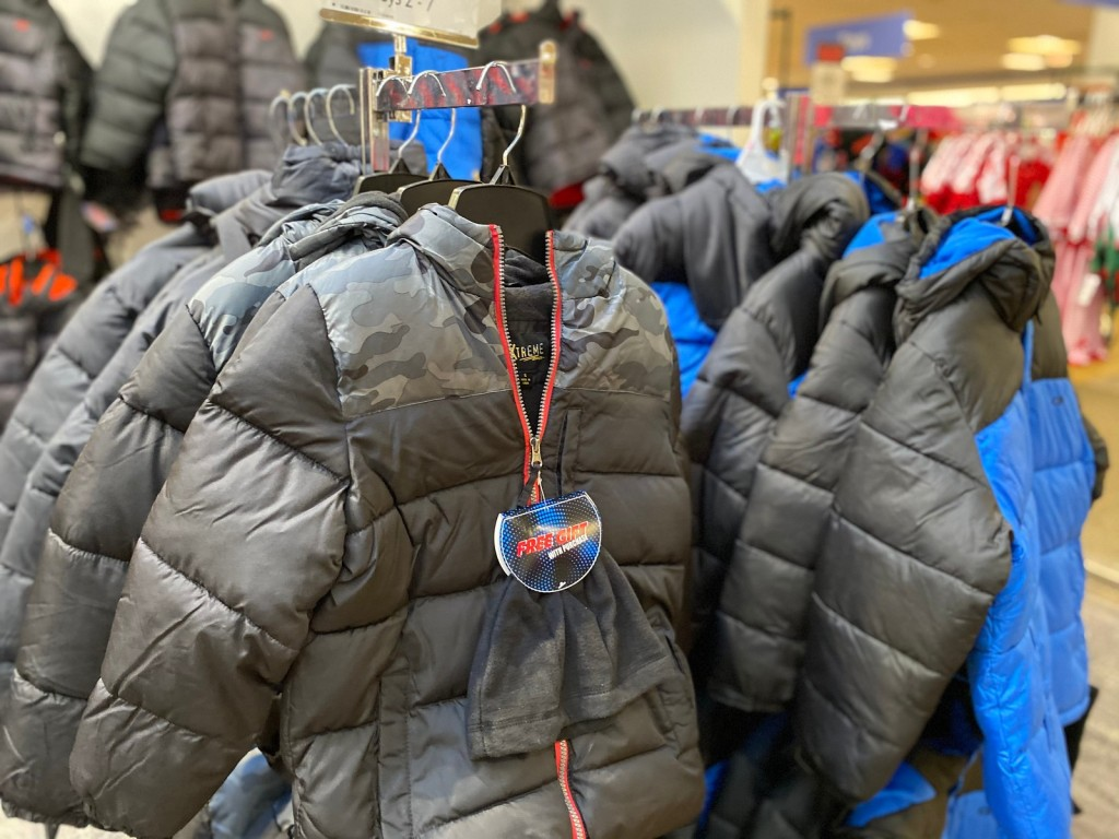 Big Boys Puffer Coats from Macy's