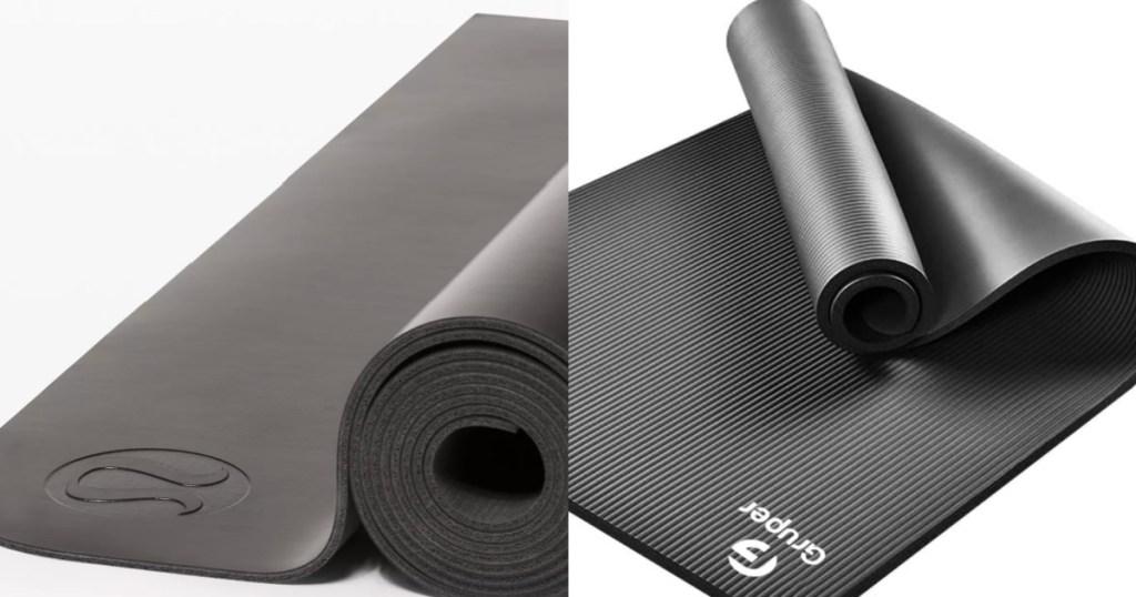 two yoga mats