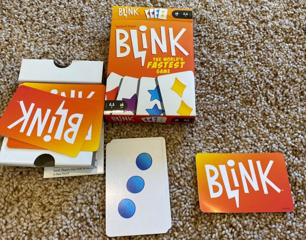 Blink games and cards