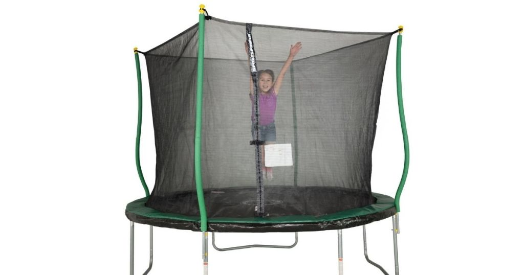 Bounce Pro 10' Trampoline with Flashlight Zone