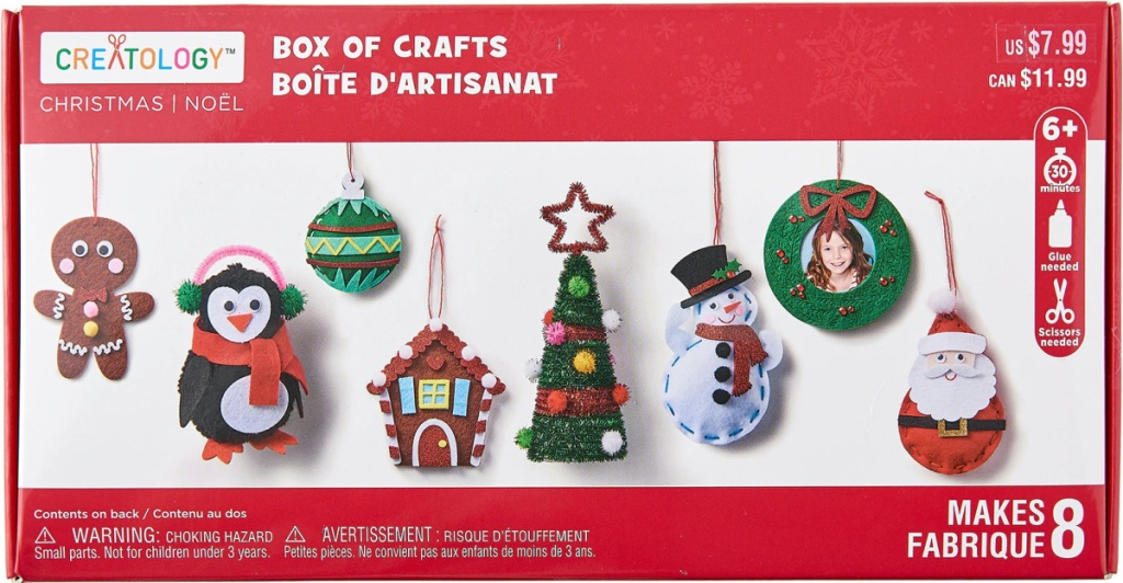 kotak kerajinan Natal