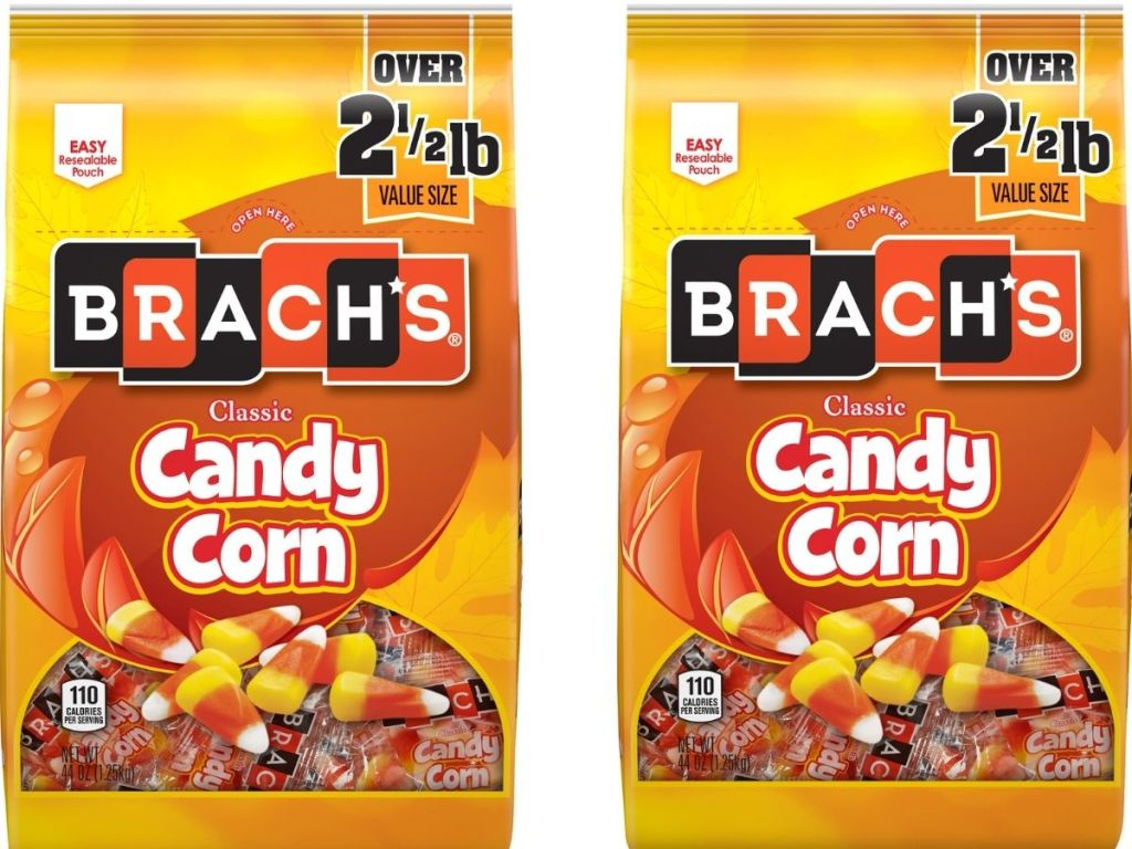 Two Bags Of Brach's 2.5lb Candy Corn