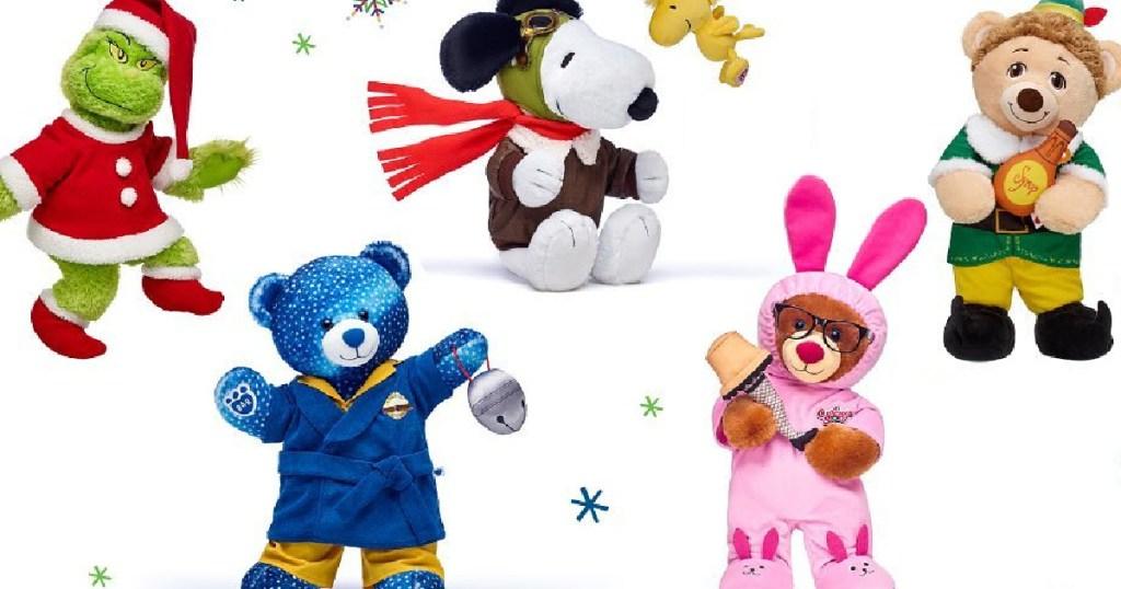 Christmas movie themed bears