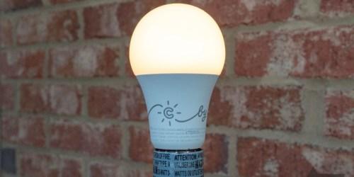 C by GE Smart LED Light Bulbs 4-Pack Only $19.99 on BestBuy.com (Regularly $45)