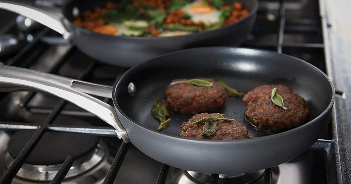 Calphalon Premier Hard-Anodized Fry Pan Cookware Set