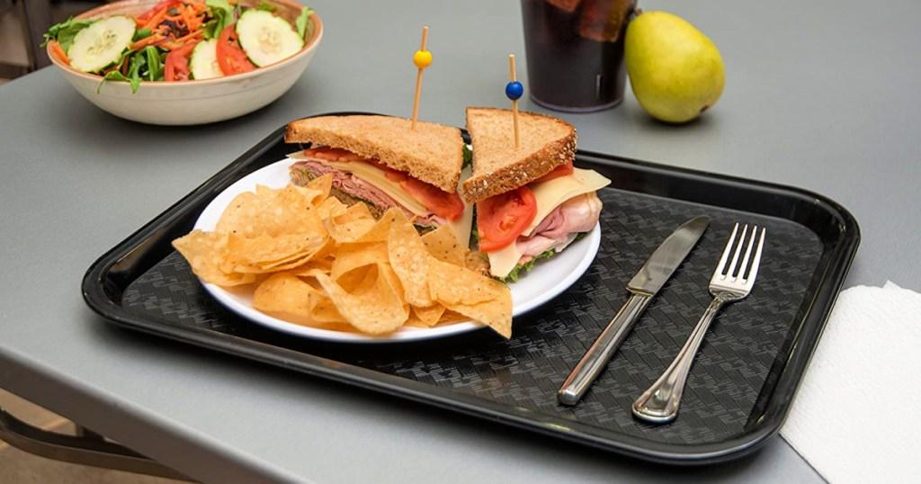 Carlisle Café Standard Cafeteria Fast Food Tray