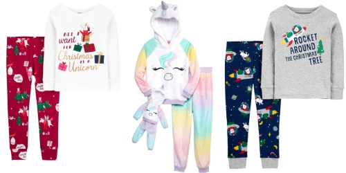 Kids Pajama Sets from $7 on Belk.com (Regularly $20+) | Includes Christmas & Carter's