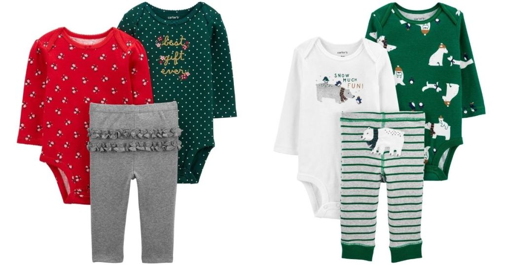 Carter's 3-piece outfit Sets