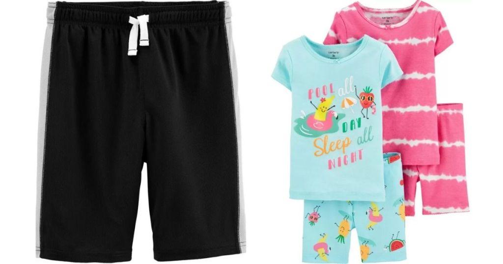 Carter's Shorts and Pajamas