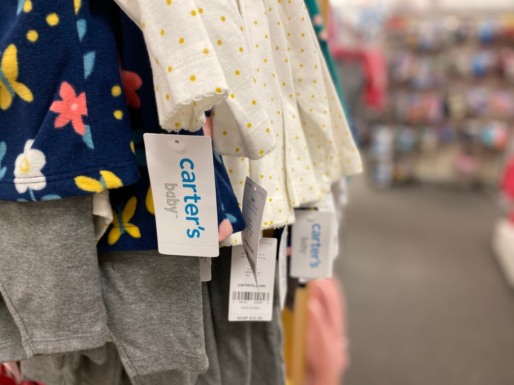 Carter's baby Clothes tags