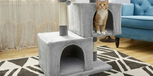 33″ Cat Tree & Condo Just $31.82 Shipped on Chewy.com (Regularly $53) | Awesome Reviews