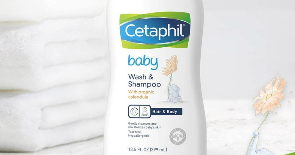 Cetaphil Baby Wash & Shampoo bottle