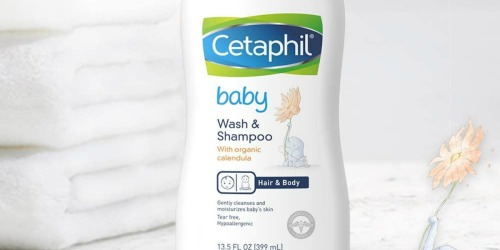 Cetaphil Baby Wash & Shampoo Just $3.48 Each Shipped on Amazon | Tear-Free & Hypoallergenic