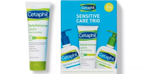 Cetaphil Best Sellers Box Just $11 on Target.com (Regularly $20) | Includes 3 Full-Size Products