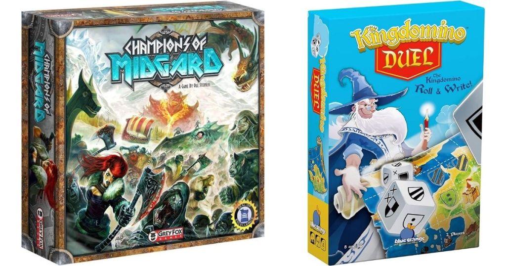 Champions of Midgard and Kingdomino