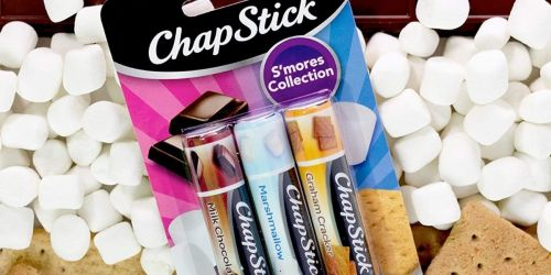 ChapStick S'mores Collection 3-Pack Only $2 Shipped on Amazon (Regularly $5)