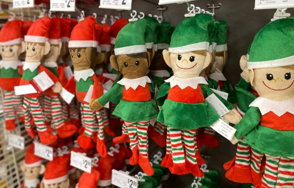 Christmas Plush Elves