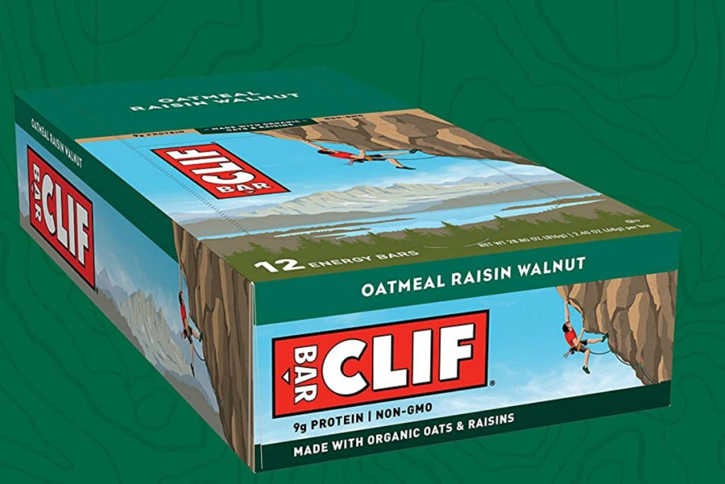 Clif Bars in a large package