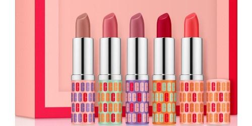 Clinique 5-Piece Lipstick Gift Set Only $20 on Macys.com ($97 Value!)