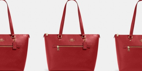 Coach Gallery Tote Only $98 Shipped (Regularly $328) | May Sell Out!