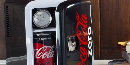 Soda-Themed Mini Fridges Only $29 on Walmart.com (Regularly $50+) | Coca-Cola, Sprite & More