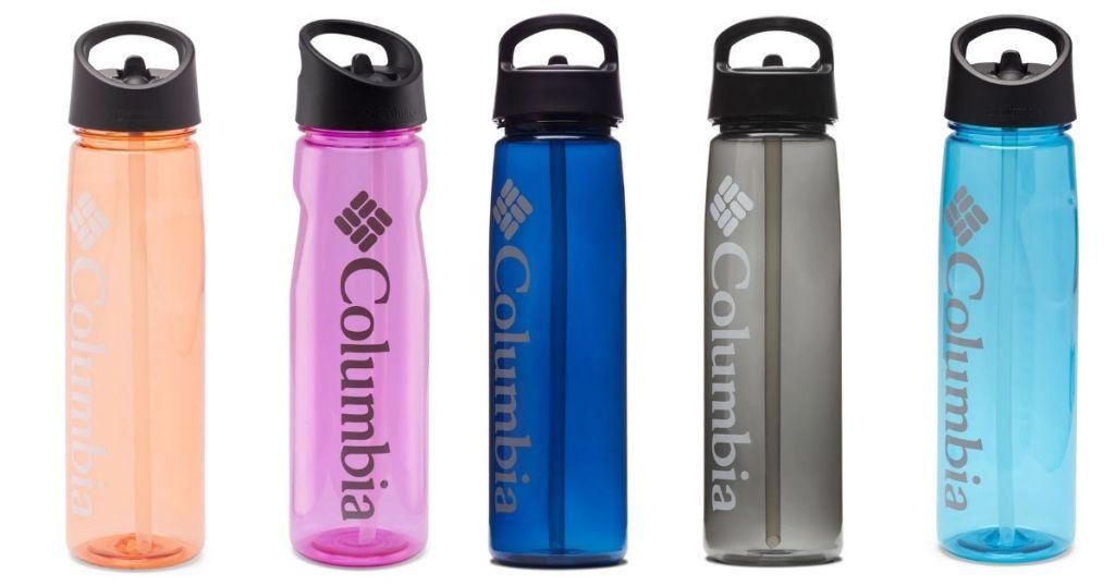 Five Columbia 25-oz Water Bottles