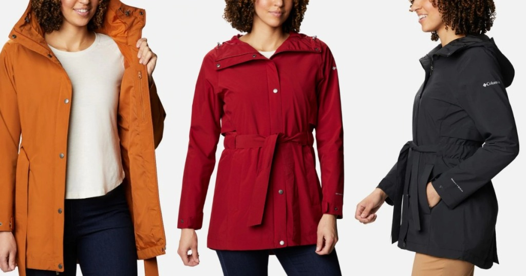 woman wearing different colored jackets