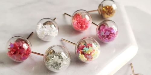 Confetti Post Studs Only $6.99 Shipped (Regularly $13)
