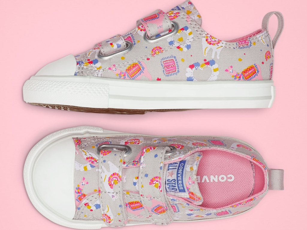 Converse Toddler Llama Party Hook and Loop Chuck Taylor All Star Sneakers