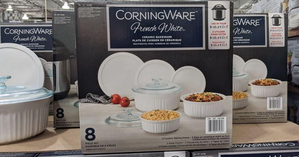 Corningware Ceramic Bakeware Set at Costco