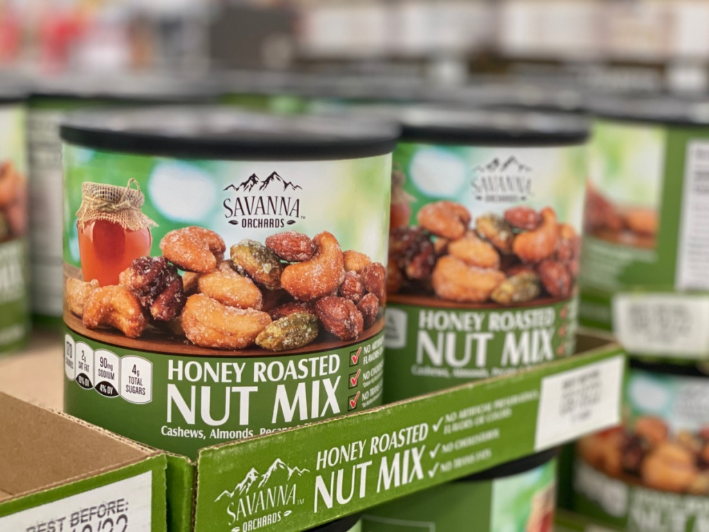 honey roasted nut mix at costco