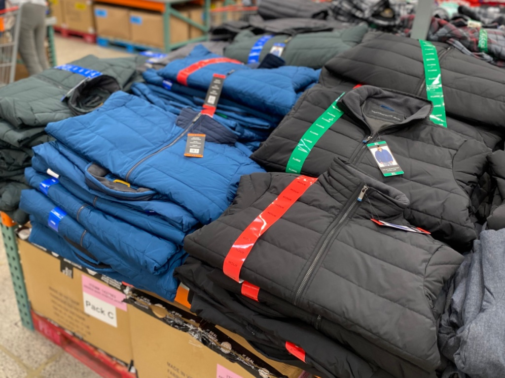 weatherproof men's puffer jackets at costco
