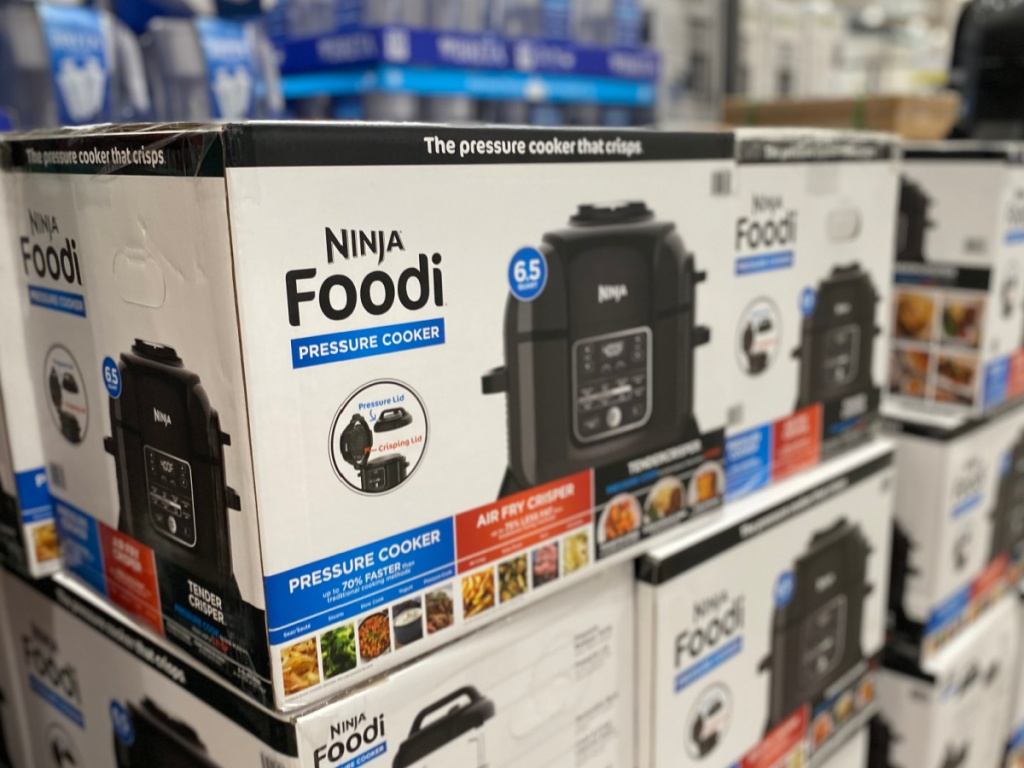 ninja foodi pressure cooker and air fryer at costco