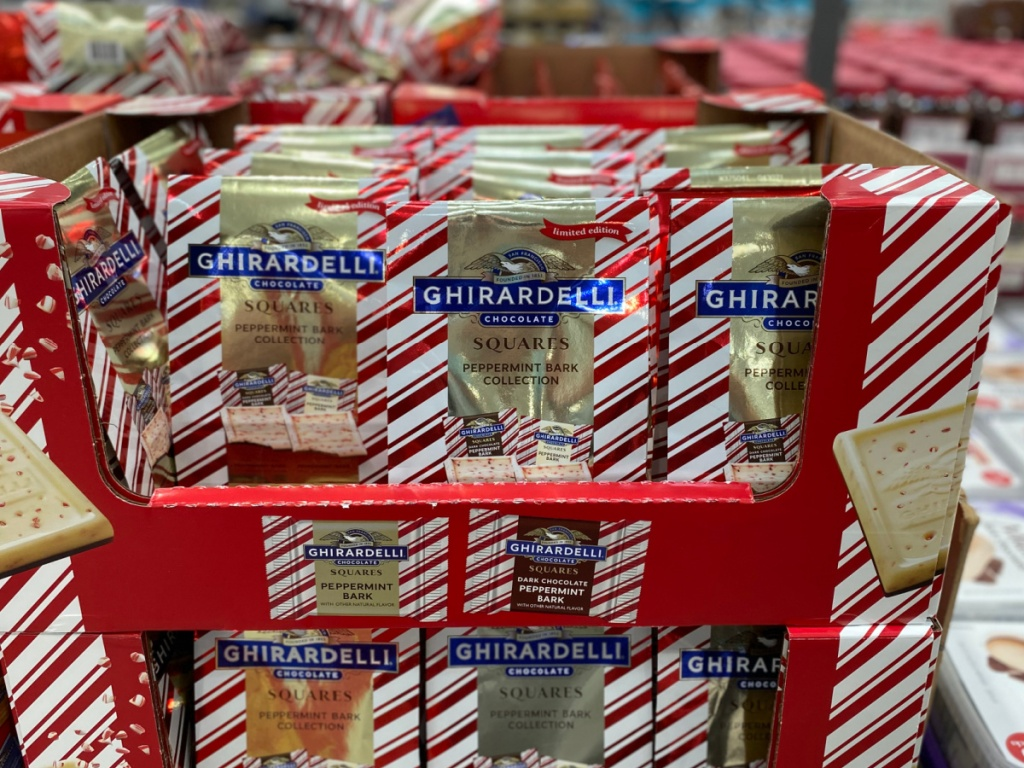 ghirardelli peppermint bark at costco