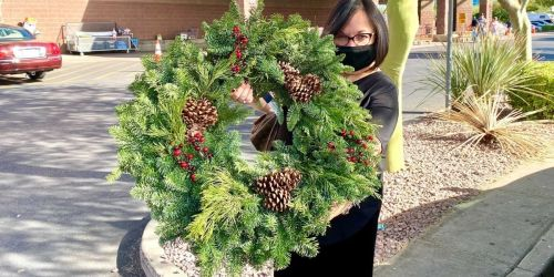 Decorate Your Front Door w/ Lina's Favorite Wreath | Only $17.99 at Costco