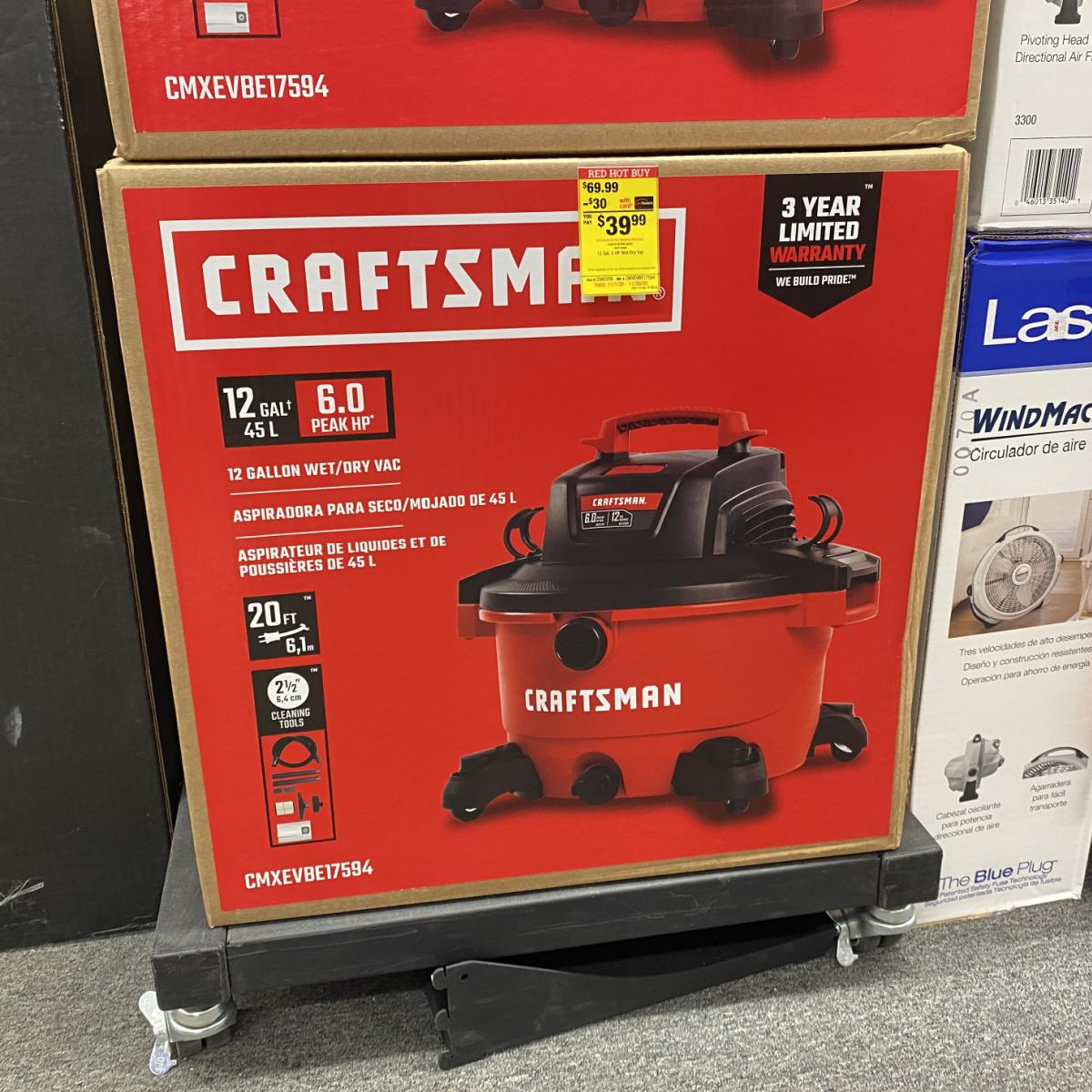 Craftsman Wet Dry Vac