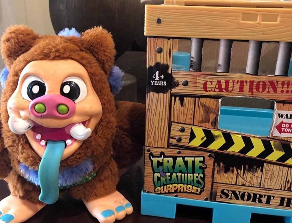 Crate Creatures Snort Hog and box